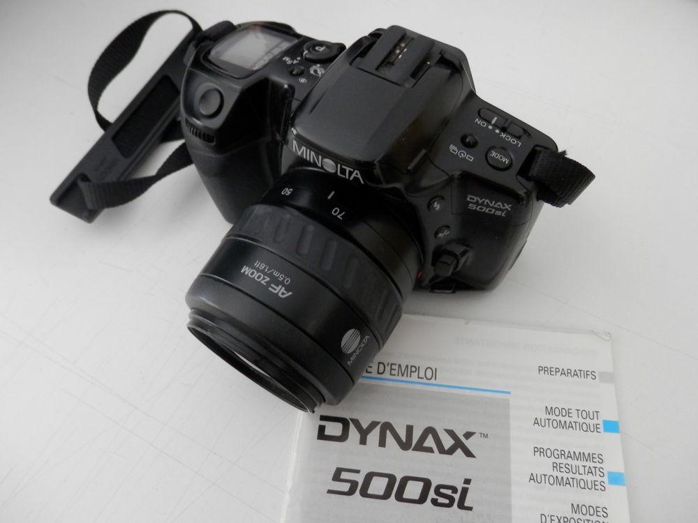 appareil reflex argentique  minolta dynax 500si  85 Saint-Étienne (42)