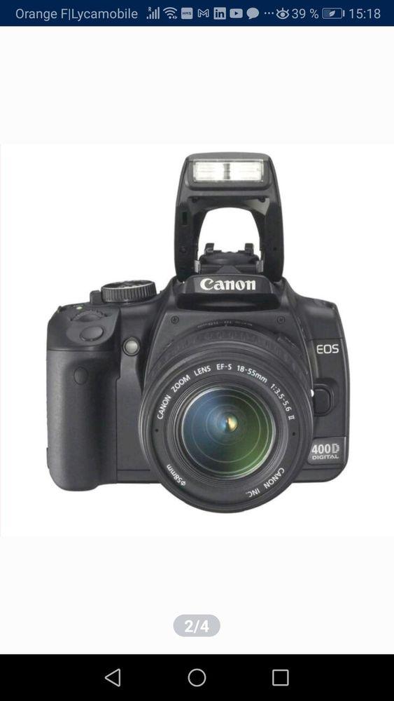 Appareil Reflex numérique avec 2 zooms et accessoires 300 Labouheyre (40)