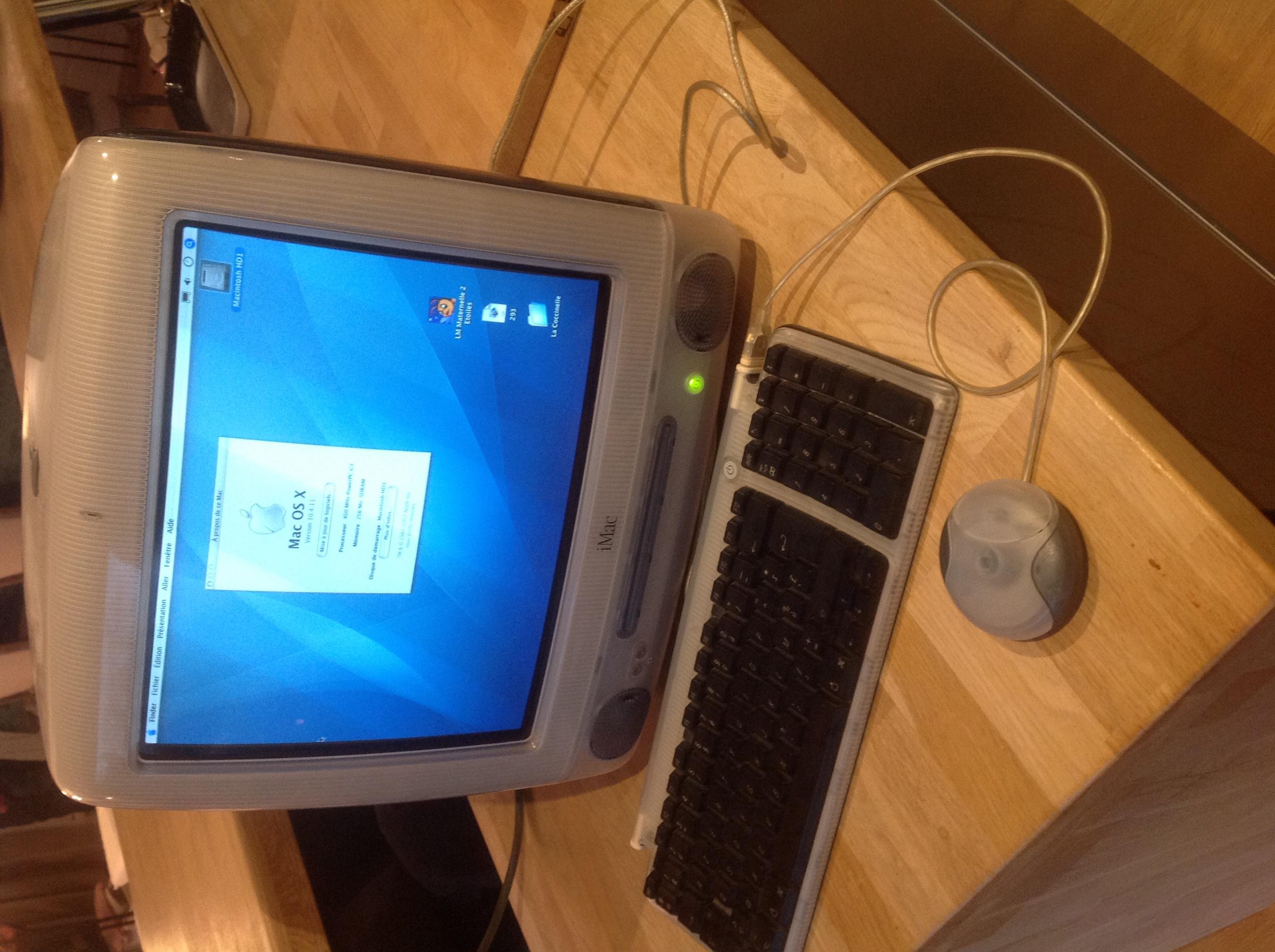 Apple iMac G3 authentique Matériel informatique