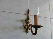 Applique en bronze - 1 branche - Motif Rosace 0 Aubière (63)