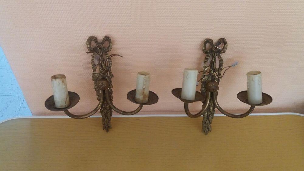 2 appliques en bronze 40 Le Plessis-Pâté (91)