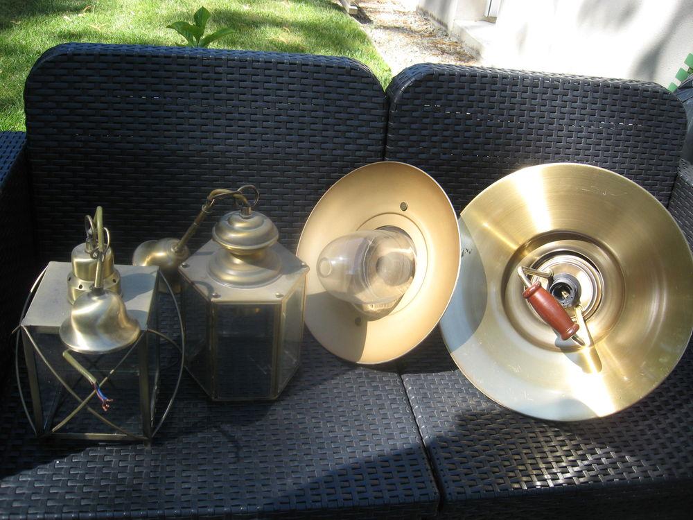 appliques et lampadaire laiton 0 La Fresnais (35)
