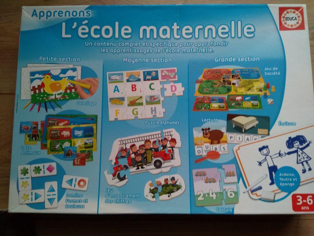Jeu apprenons l'école maternelle 10 Mesnil-Raoul (76)