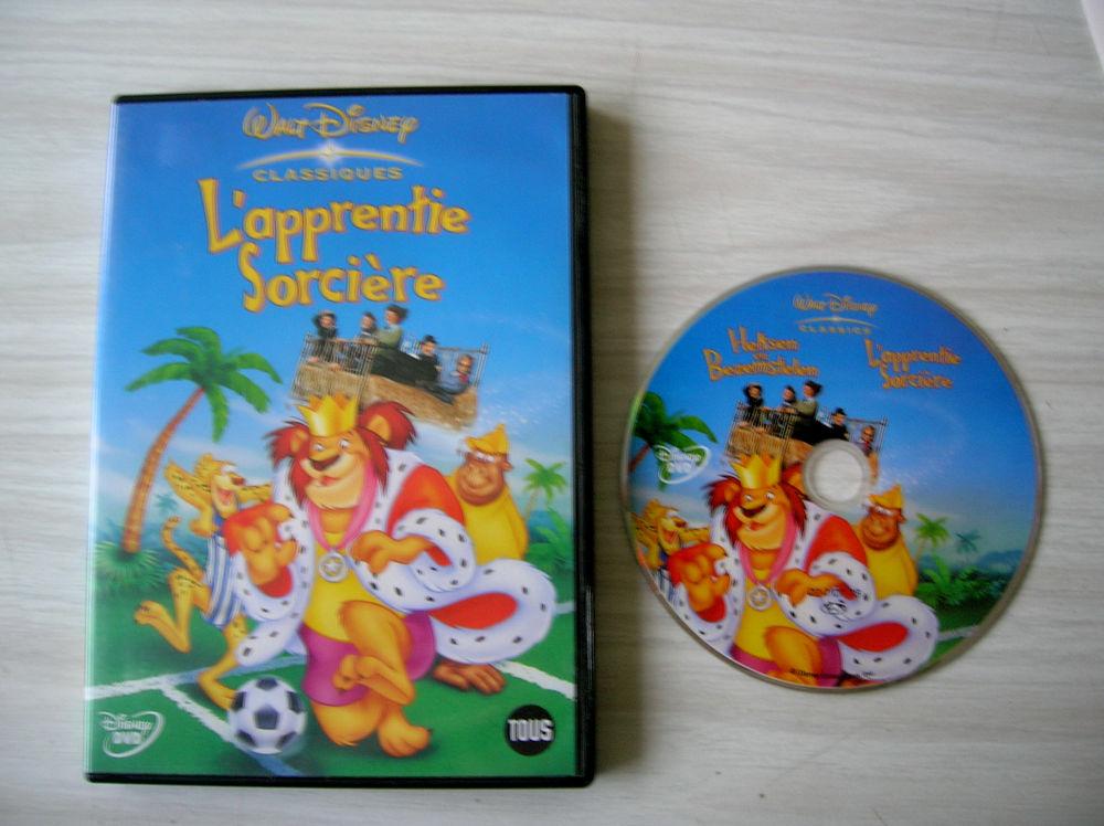 DVD L'apprentie sorcière - DISNEY 16 Nantes (44)