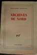 ARCHIVES DU NORD - Marguerite Yourcenar, Rennes (35)