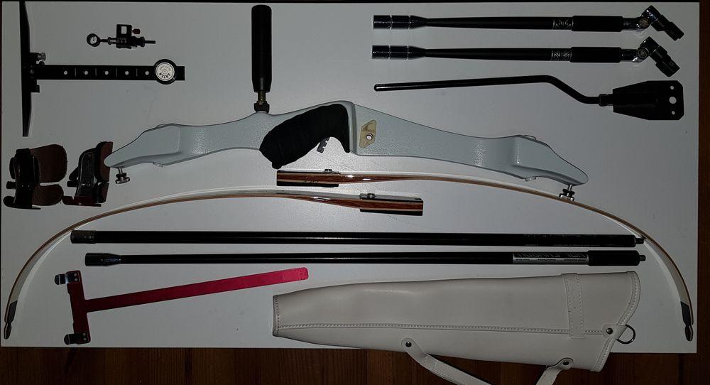 Lot d'arcs pour loisir ou competition 500 Villemoustaussou (11)