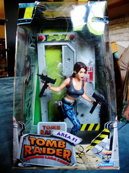 Area 51 Diorama Tomb Raider Lara Croft Ref 72003  95 Toulouse (31)