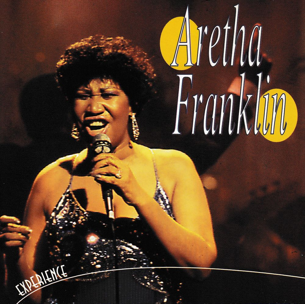 CD    Aretha Franklin   -   Experience 5 Bagnolet (93)