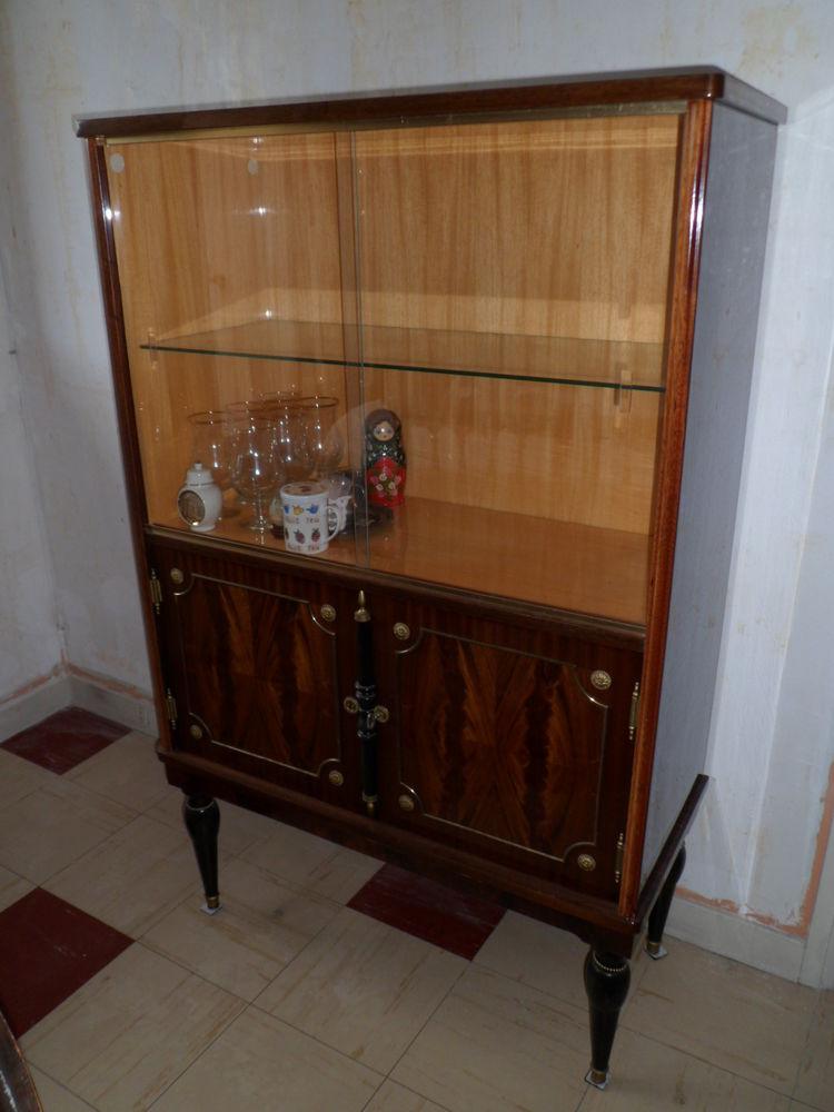 Argentier vitrine vernis vintage année 1970 100 Morsang-sur-Orge (91)