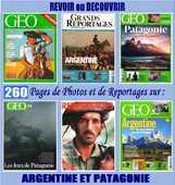 ARGENTINE - géo - PATAGONIE / prixportcompris 18 Nantes (44)