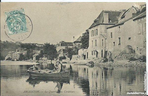 argenton , quartier des cordiers 36 13 Tours (37)