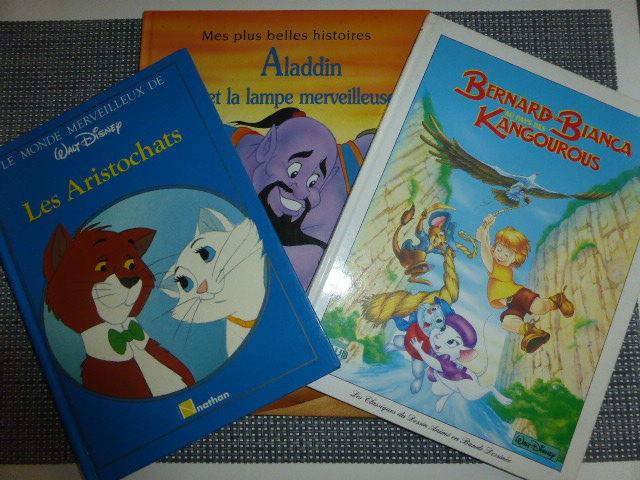 Lot Les aristochats Aladin Bernard et Bianca 4 Rueil-Malmaison (92)