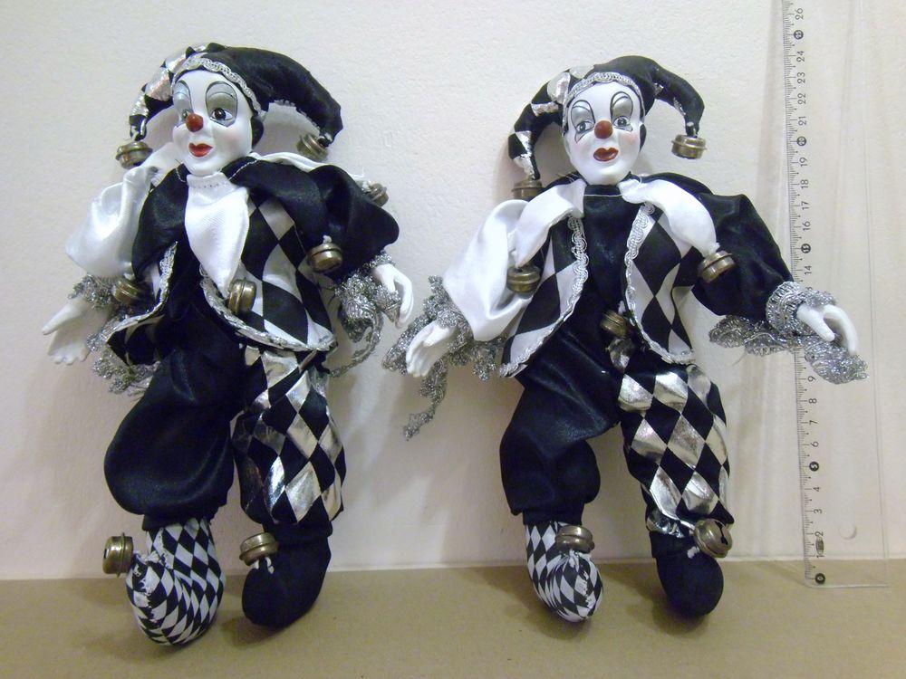 Lot de 2 arlequins noirs et blancs 8 Reims (51)