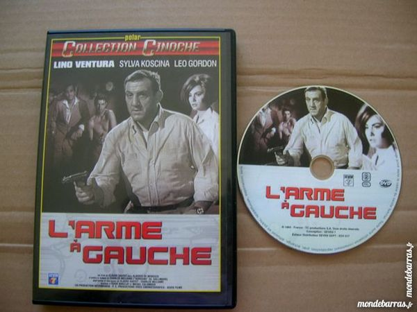 DVD L'ARME A GAUCHE - Ventura/Koscina DVD et blu-ray