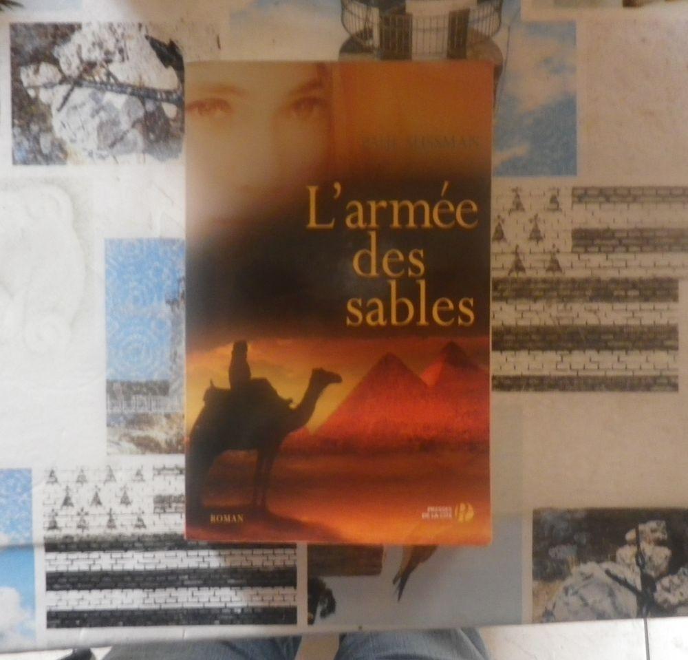 L'ARMEE DES SABLES de Paul SUSSMAN Ed. Presses de la Cité 4 Bubry (56)