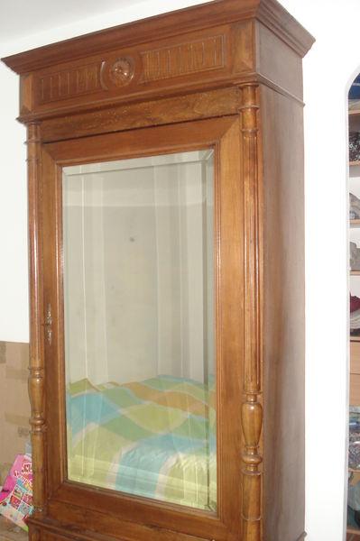 vente armoire ancienne avec miroir