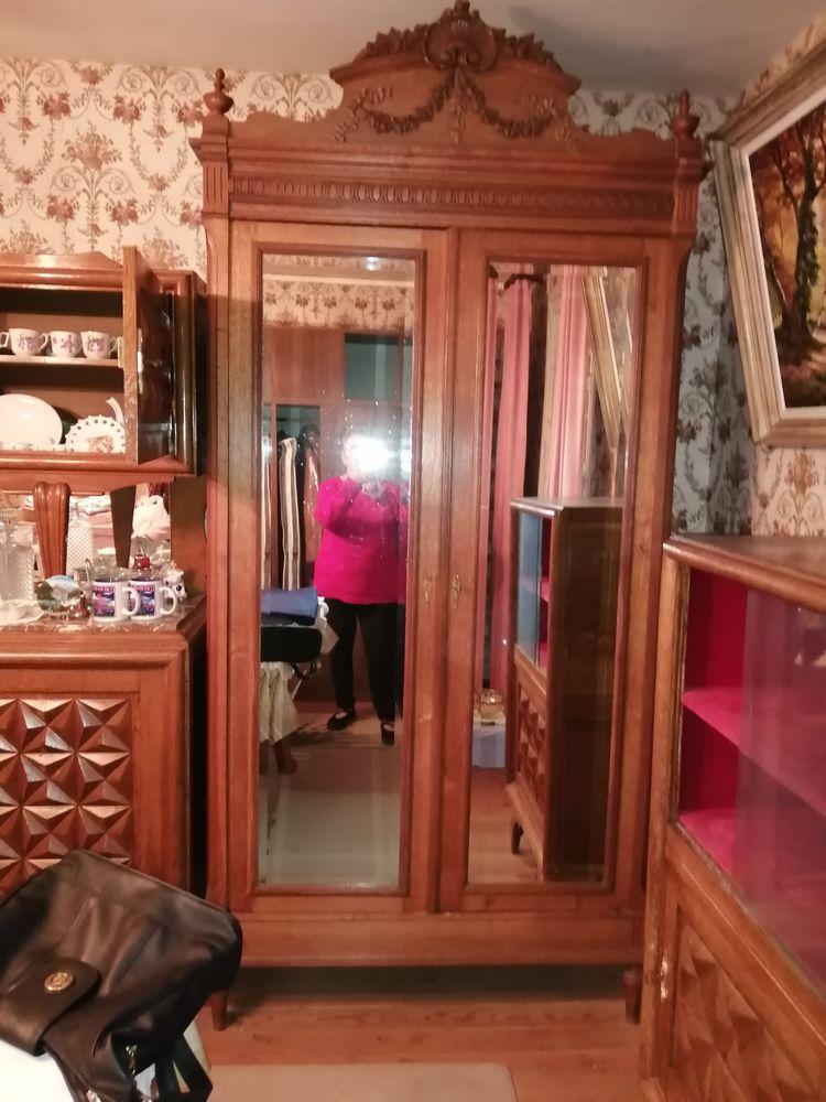 armoire ancienne avec 2 glaces 100 Caudebec-en-Caux (76)