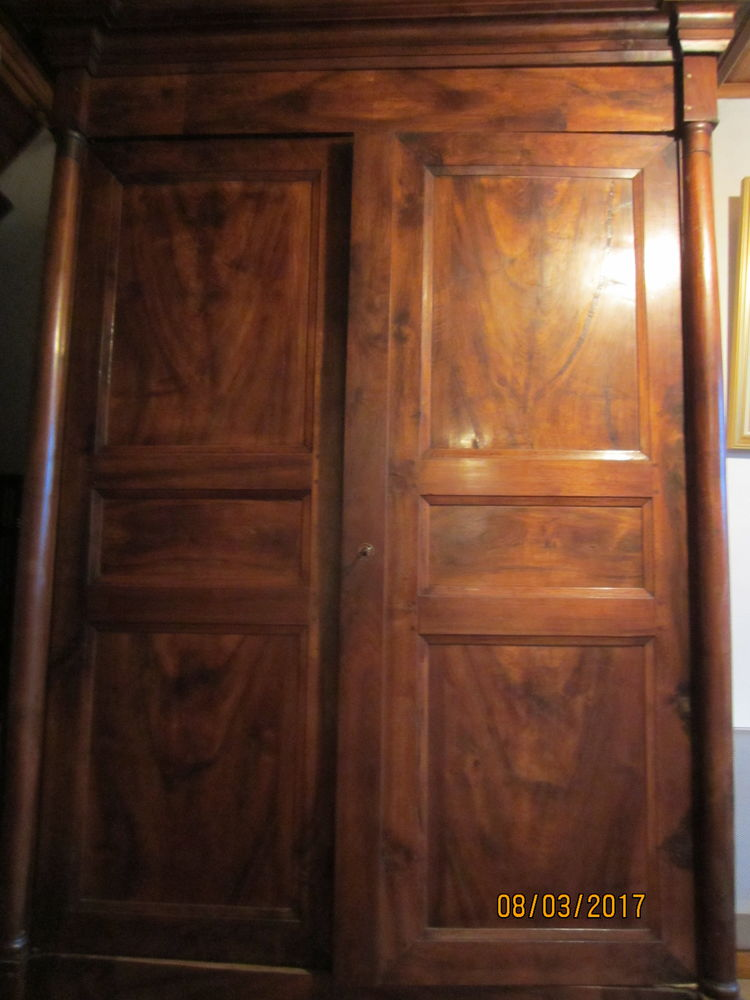 ARMOIRE ANCIENNE BOIS MASSIF 200 Ormes (51)