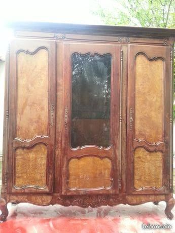 Armoire ancienne 3 portes 350 Uchaud (30)
