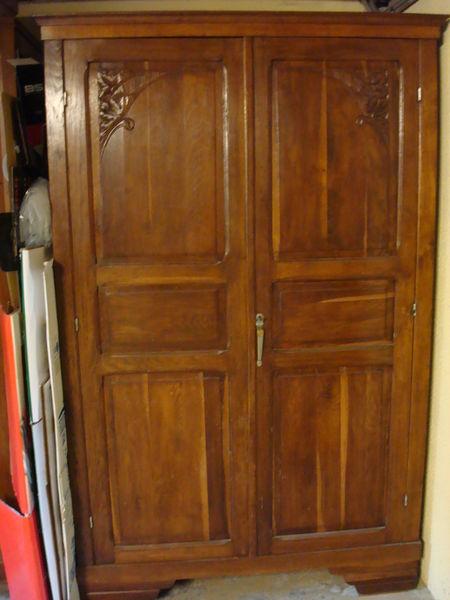 armoires anciennes occasion en charente 16 annonces achat et vente de armoires anciennes. Black Bedroom Furniture Sets. Home Design Ideas