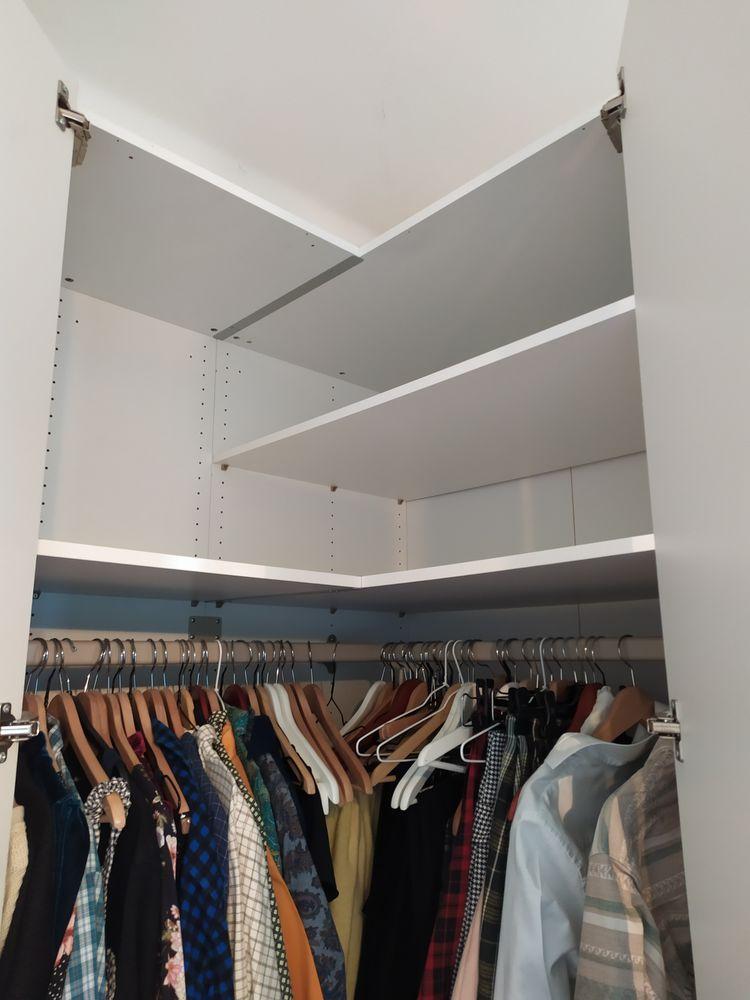 armoire d'angle blanche démontée 10 Metz (57)