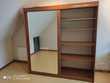 Armoire avec penderie portes coulissantes avec miroir Nanton (71)