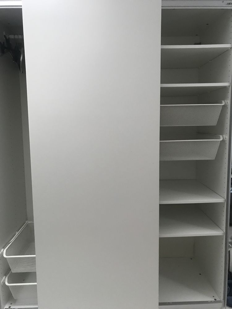 Ikea Blanche Armoire Portes Coulissantes Coulissantes Armoire Portes Ikea Blanche Armoire rQCxeoWBd