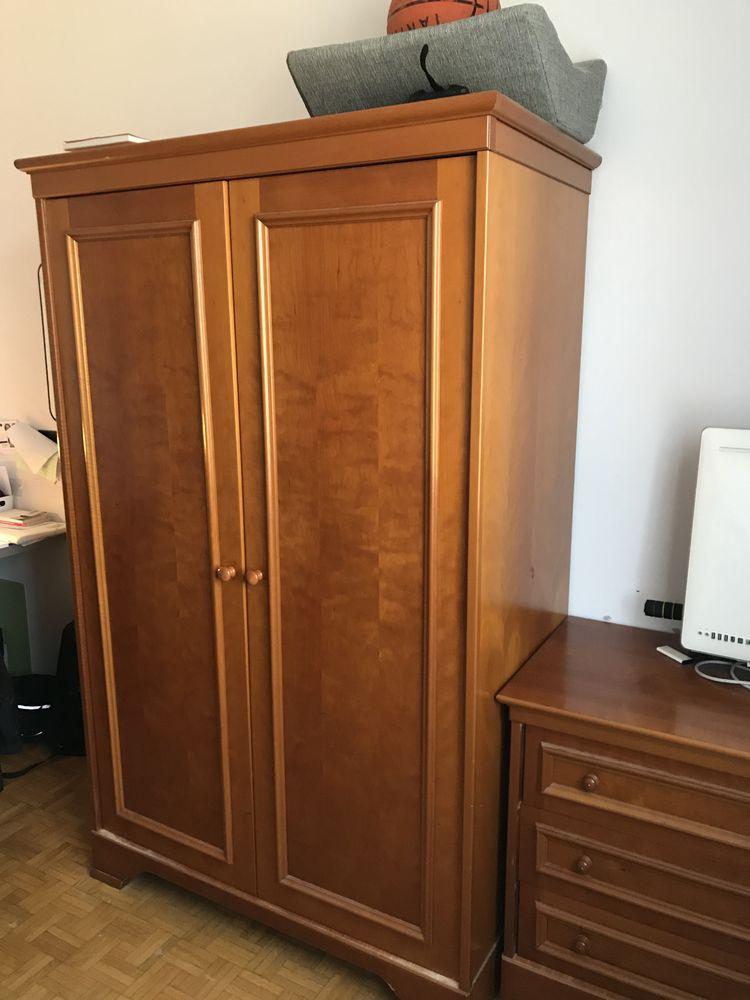 Armoire de chambre et commode en merisier contreplaqué 0 Champagne-au-Mont-d'Or (69)
