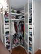 Armoire dressing d'angle Ikea. Quasi neuve, blanche Meubles