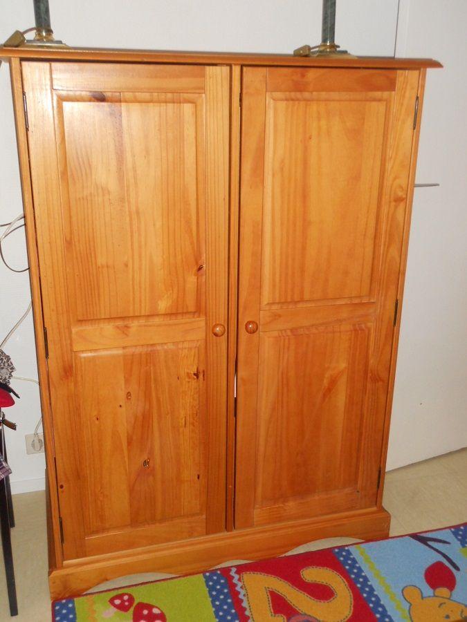 Achetez armoire enfant occasion, annonce vente à Puteaux (92) WB154506662 -> Authentic Style Pin Teinte Miel