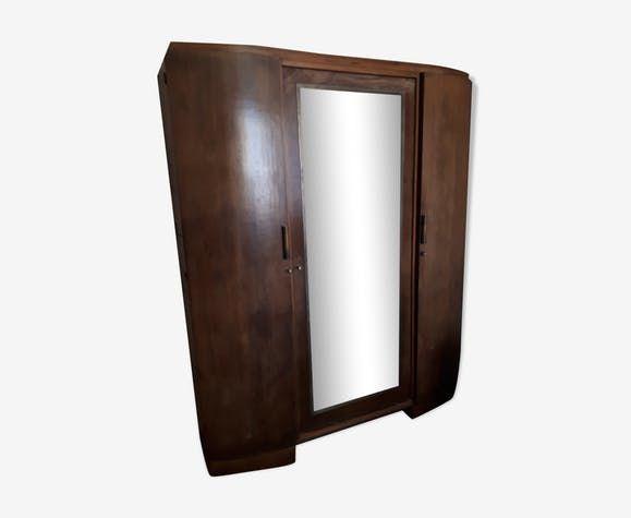 Armoire à glace à portes galbées style art déco  150 Malakoff (92)