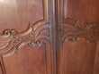 Armoire de Mariage meuble ancien 18 eme siecle en chene mass Meubles