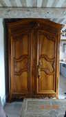 armoire de mariage en noyer massif 0 Fos-sur-Mer (13)