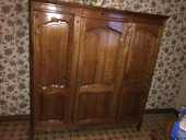Armoire en merisier 3 portes, 1 glace et 1 tiroir 1100 Romorantin-Lanthenay (41)