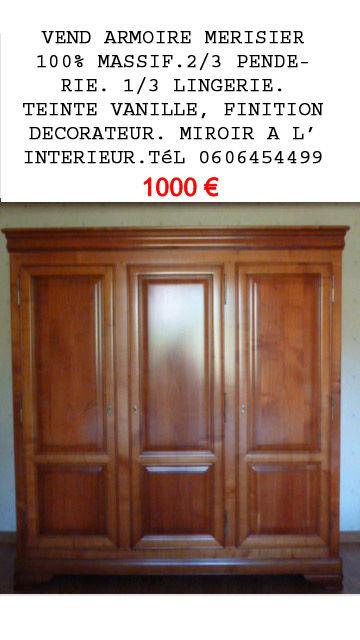 ARMOIRE MERISIER 1000 Mauves-sur-Loire (44)