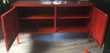 Armoire métallique rouge Meubles