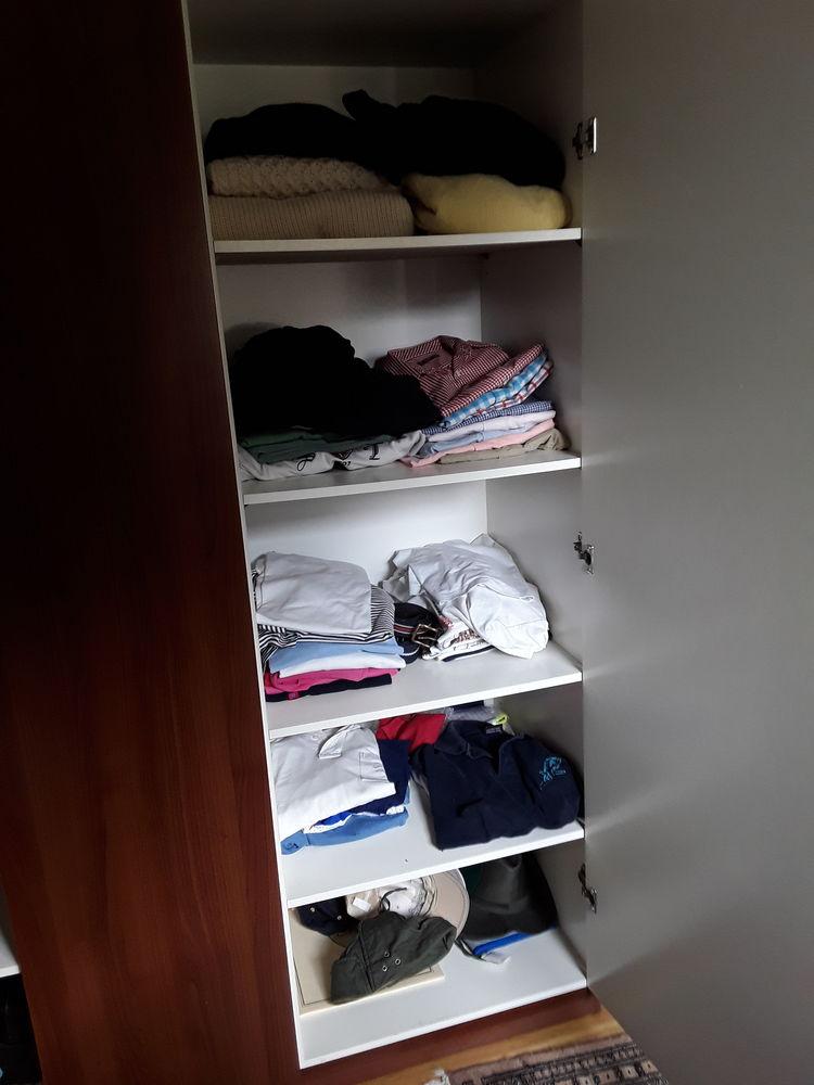 Armoire penderie IKEA Acajou 0 Dinard (35)