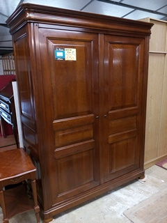 Armoire penderie style Louis Philippe 180 Toulouse (31)
