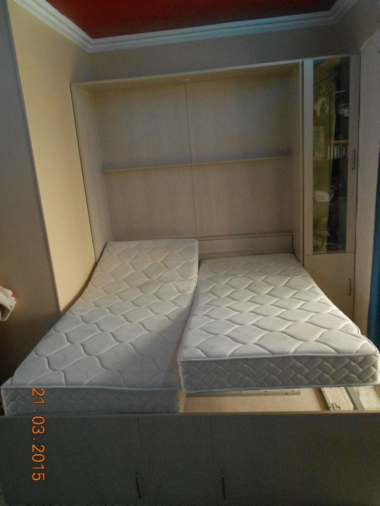 armoire lit 2 places + armoire 0 Juan Les Pins (06)