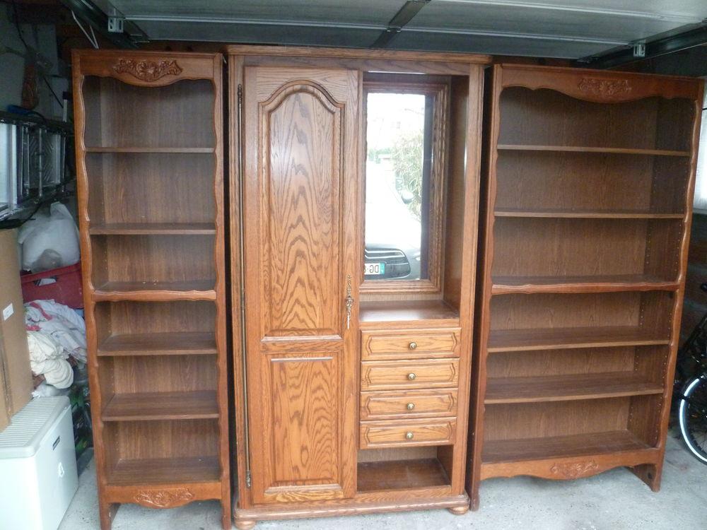armoire plus deux bibliothèque  60 Sainte-Eulalie-en-Born (40)