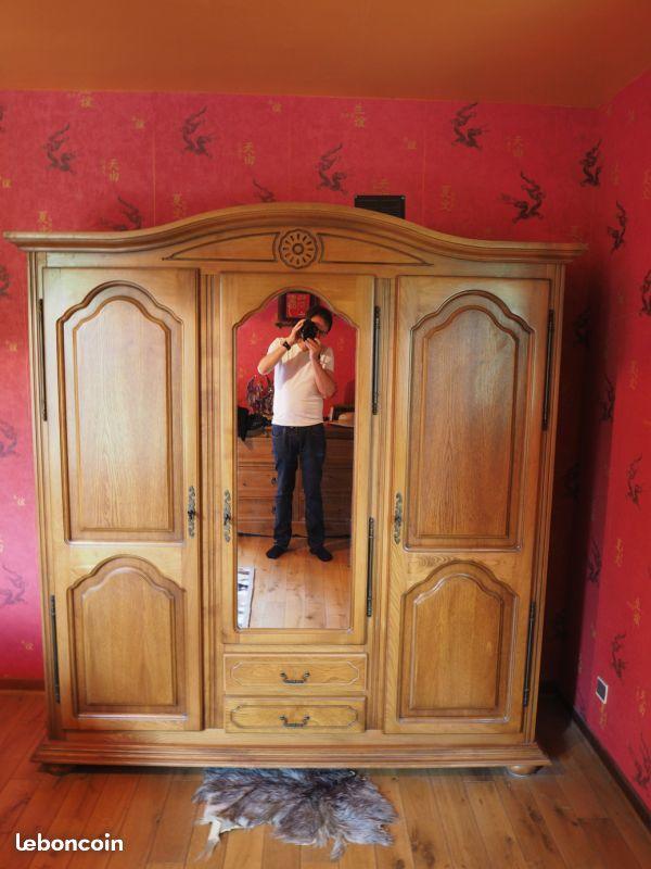 Armoire portes et côtés en chêne 100 Brannay (89)