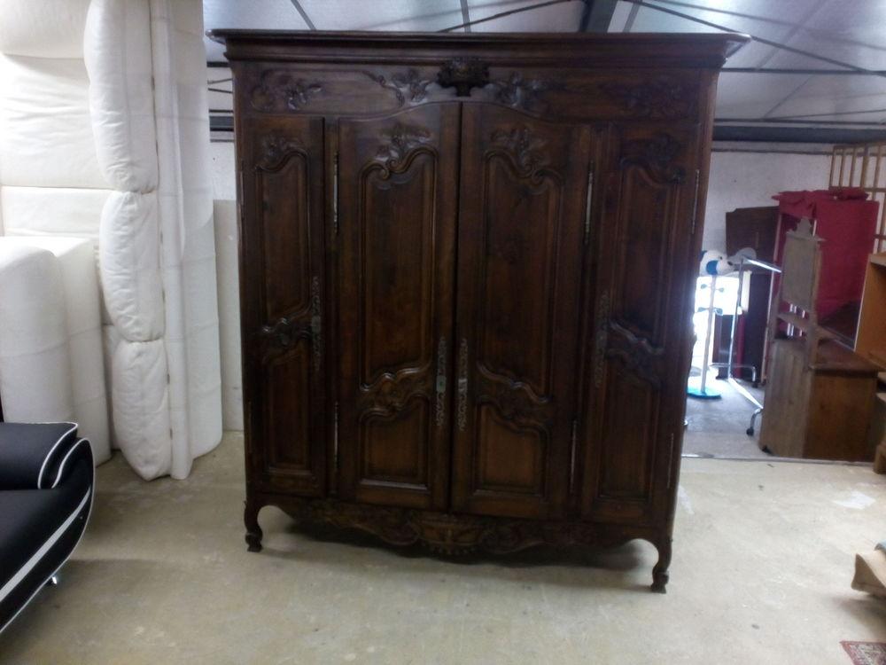 Armoire 4 portes style Louis XV 350 Toulouse (31)