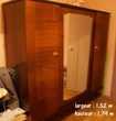 armoire, salle à manger sans chaise, 2 meubles TV, 4 chaises Paris 19 (75)
