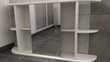 Armoire de toilette Blanche - Etagères extérieures Meubles
