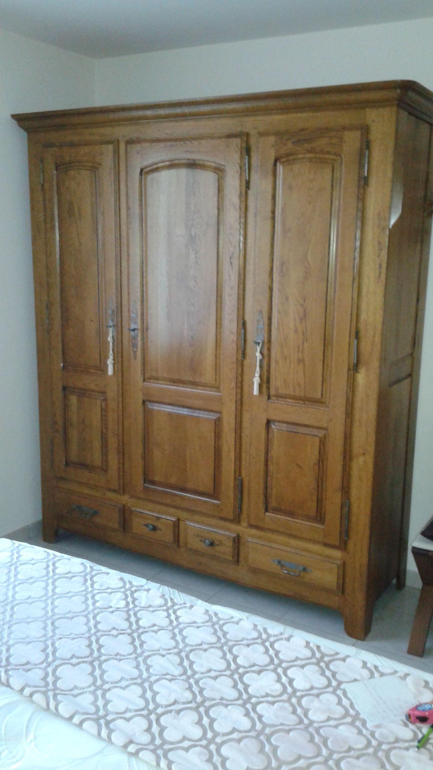Achetez armoirede chambre en occasion annonce vente talmont saint hilaire - Chambre chene massif ...