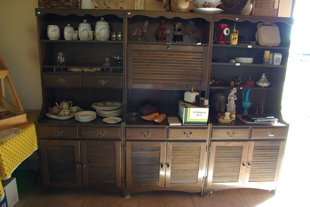 lot de 3 armoires en bois 50 La Salvetat-Belmontet (82)