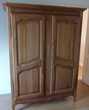 armoires deux portes bois massif