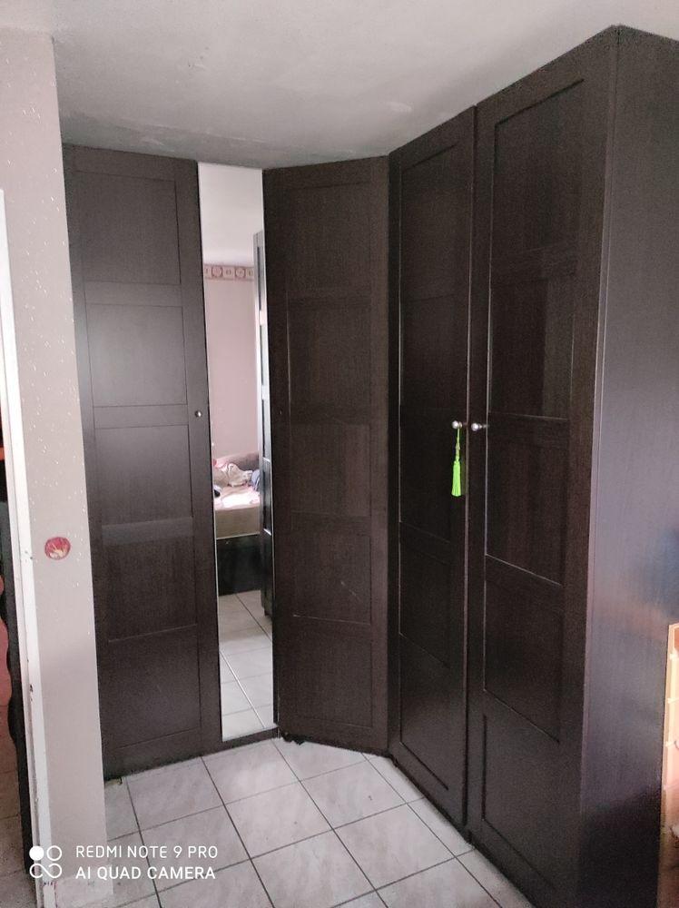 armoires  ikea marron noi 300 Paris 20 (75)