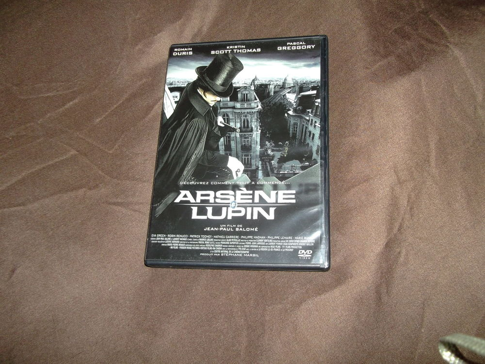 DVD Arsène LUPIN 1 Auxerre (89)