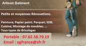 Artisan Bat Retraité Rénove et répare votre Habitat ou Burea 0 Grenoble (38)